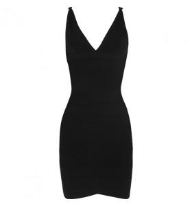 Ari perfecte little black bandage jurk