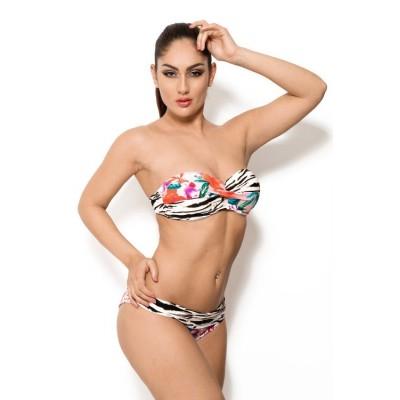 'Jeanine' floral bikini