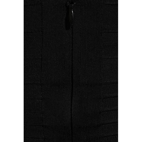 2c9ddb689278a8 Tijdloze zwarte strapless Bandage Jurk nu online verkrijgbaar!