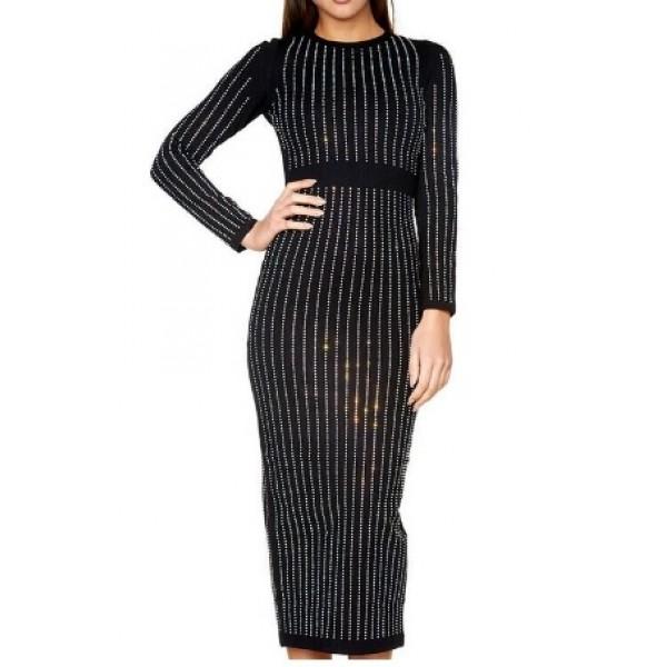 zwarte lange jurken